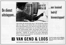 Personeelsadvertentie Van Gend & Loos