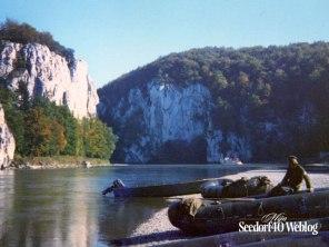 Zicht op de Donau