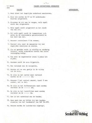 Vragenlijst #4