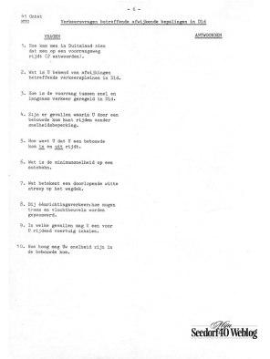 Vragenlijst #6