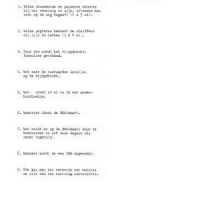 Vragenlijst #8