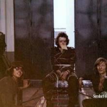 Piet Kousemaker, alias 'Strumpfenmacher' met Sjaak en René