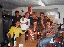 Augustus 1984: Verbindingsborrel