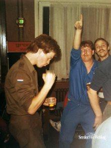 Augustus 1984: in de Compagniesbar