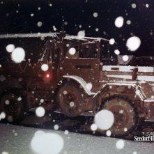 17 maart 1985: dienst in de sneeuw