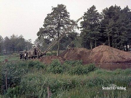 Bremervörde, 1971. Visvijver gegraven