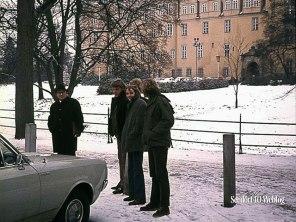 Wolfsburg, 4 november 1971 Bezoek aan VW fabrieken