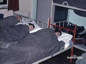 Seedorf, maart 1972 Ouwe Stompen in diepe rust...