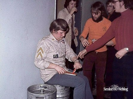 Seedorf, 10 maart 1972 Ouwe Stompenfeest