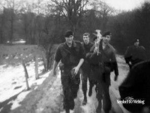 Gijtenbeek, wacht Floor, Martin Van Holten: oefening winter 67