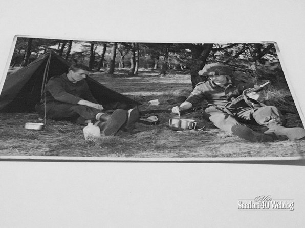 Oefening Vlasakkers: Henny Veenvliet (tukker) en Martin Elsman